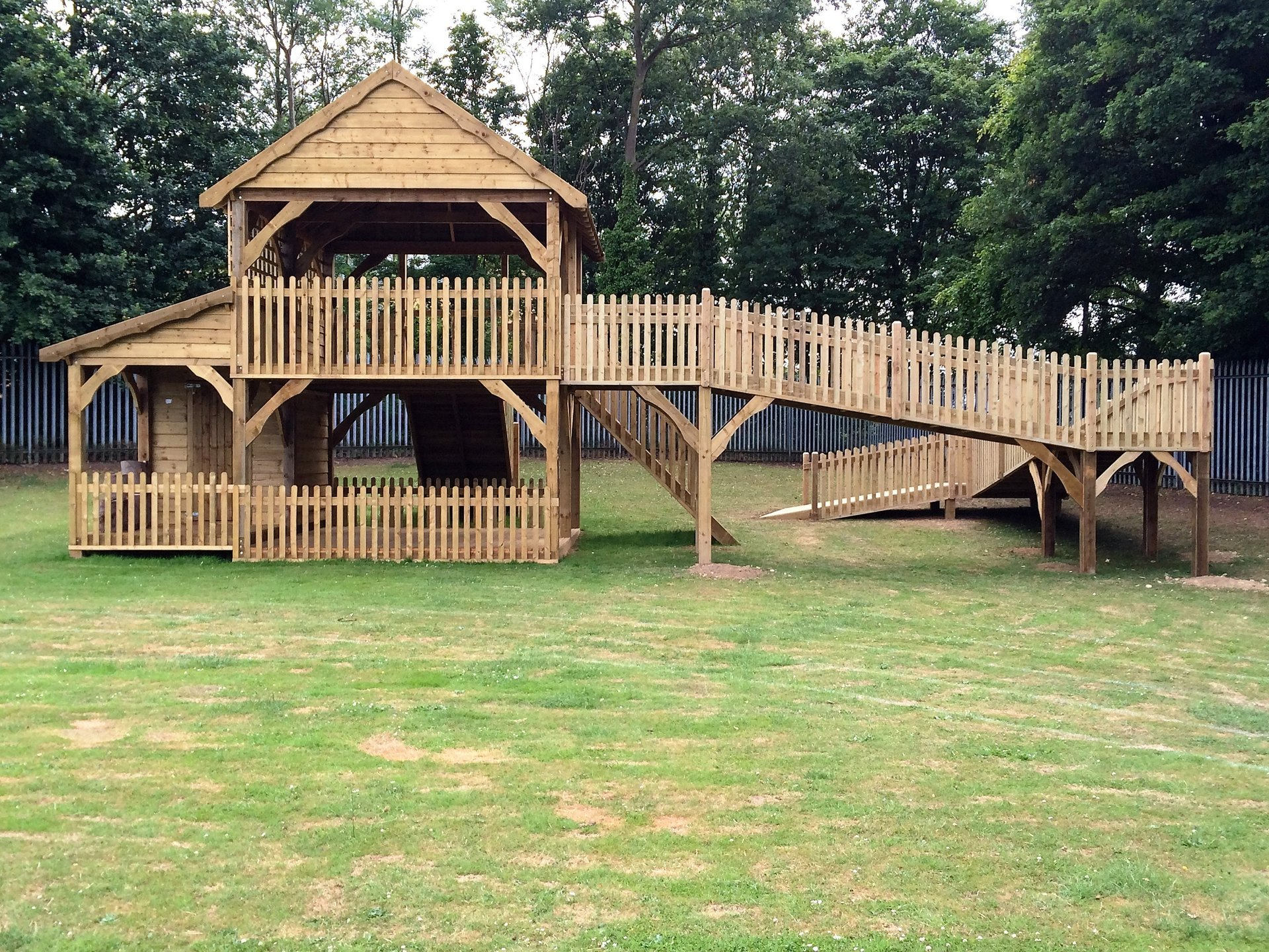 huge garden shed design