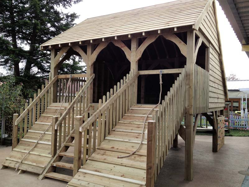 wooden structures
