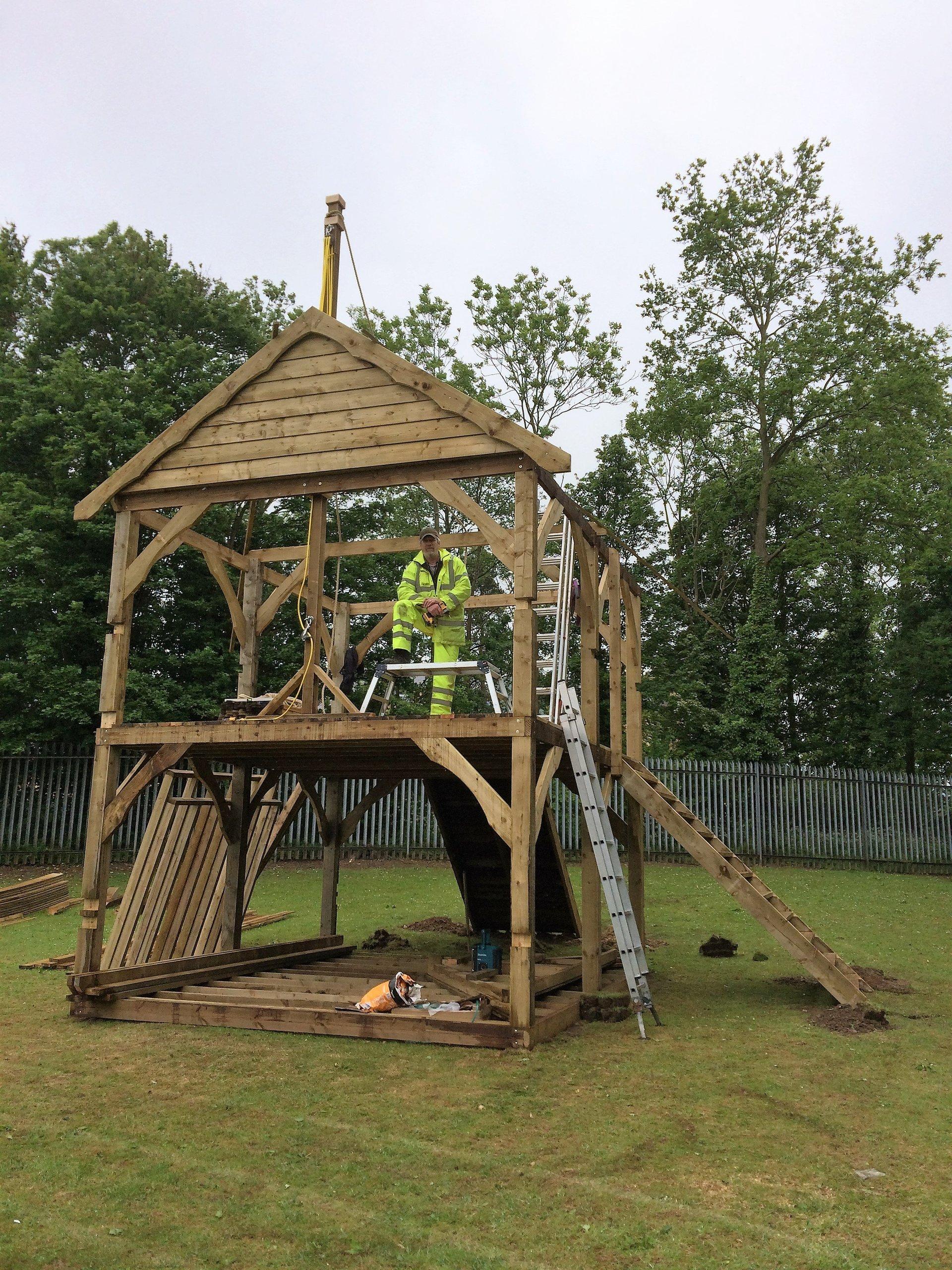 shed repair