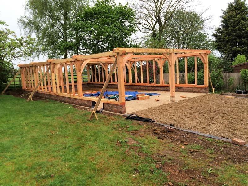 garage frame structure