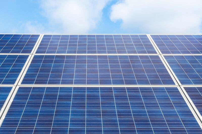 Tre pannelli solari