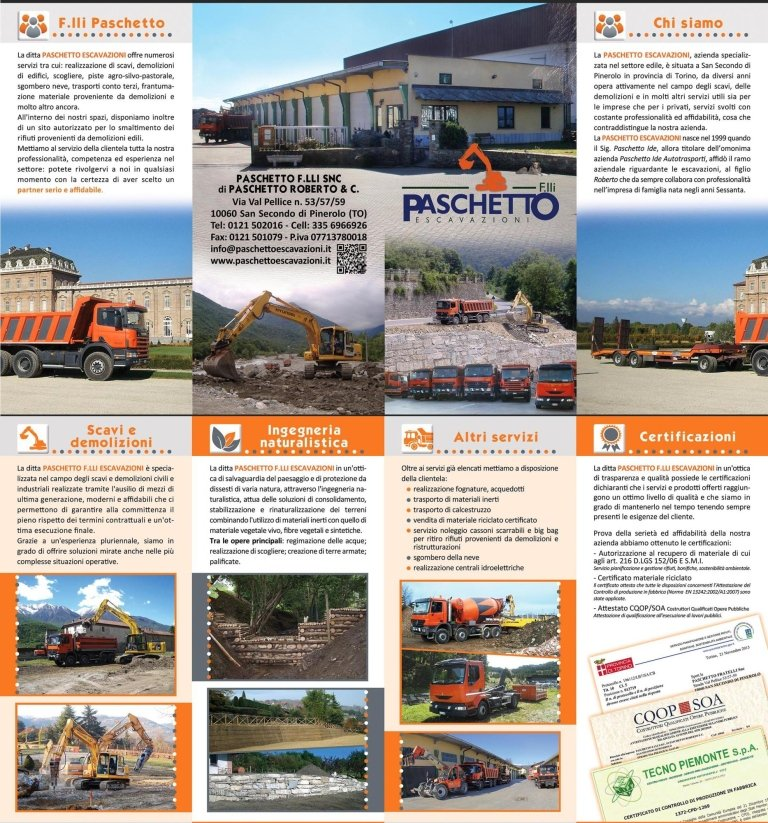 brochure paschetto