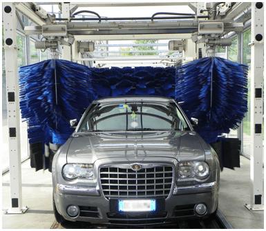 lavaggio veicoli