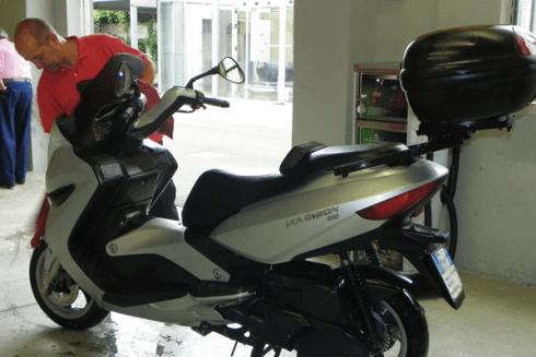 Lucidatura moto e scooter