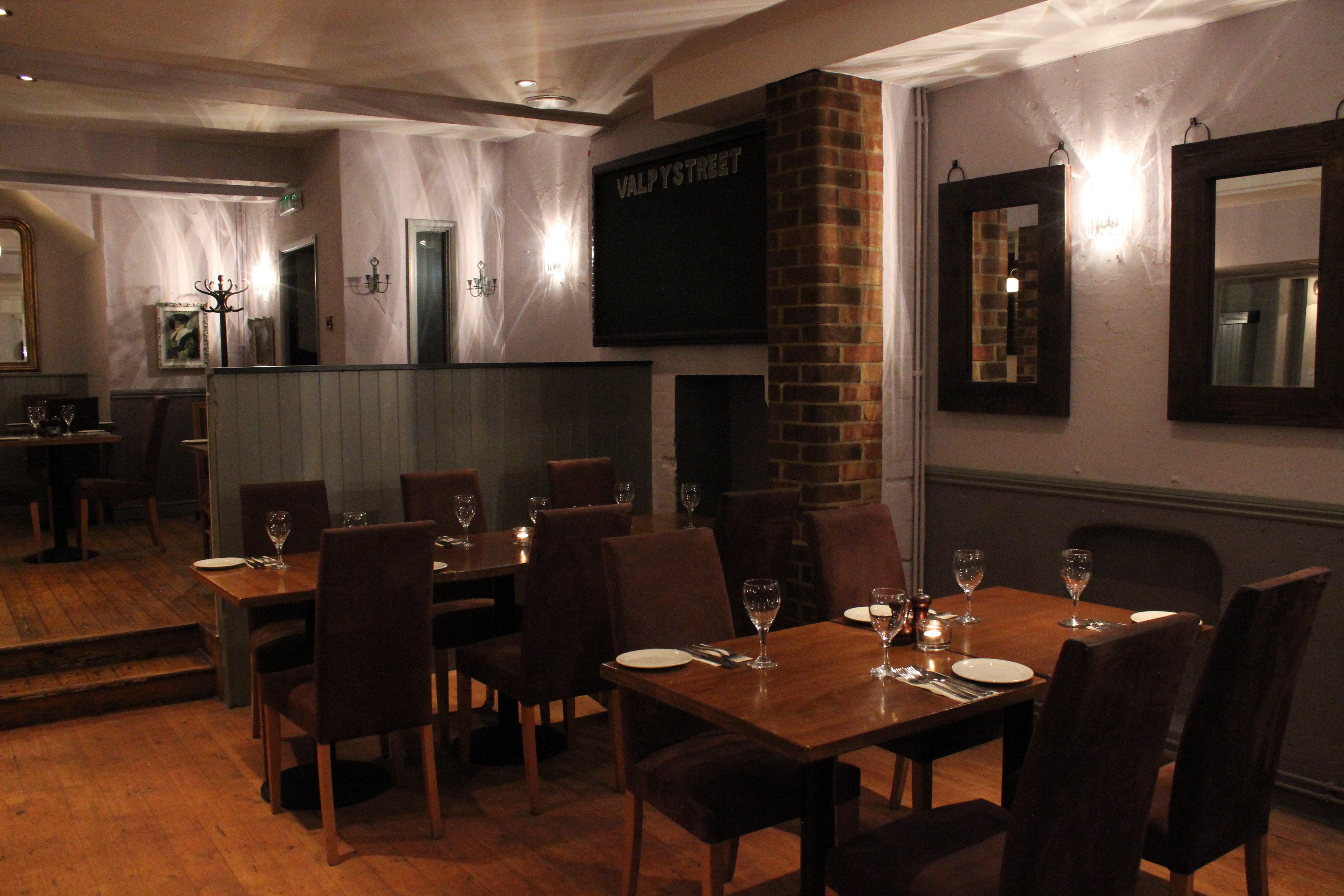 Valpy Street cellar restaurant