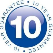 10 YEAR GUARANTEE logo