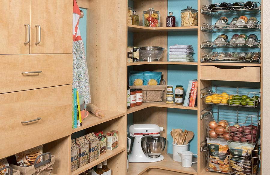 Custom Built Kitchen Pantry Systems