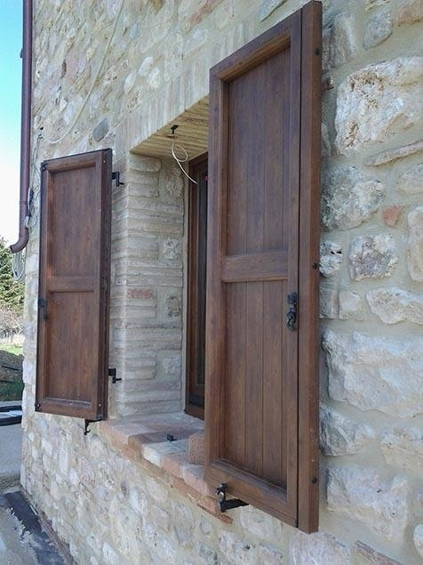 Persiane in legno - Perugia