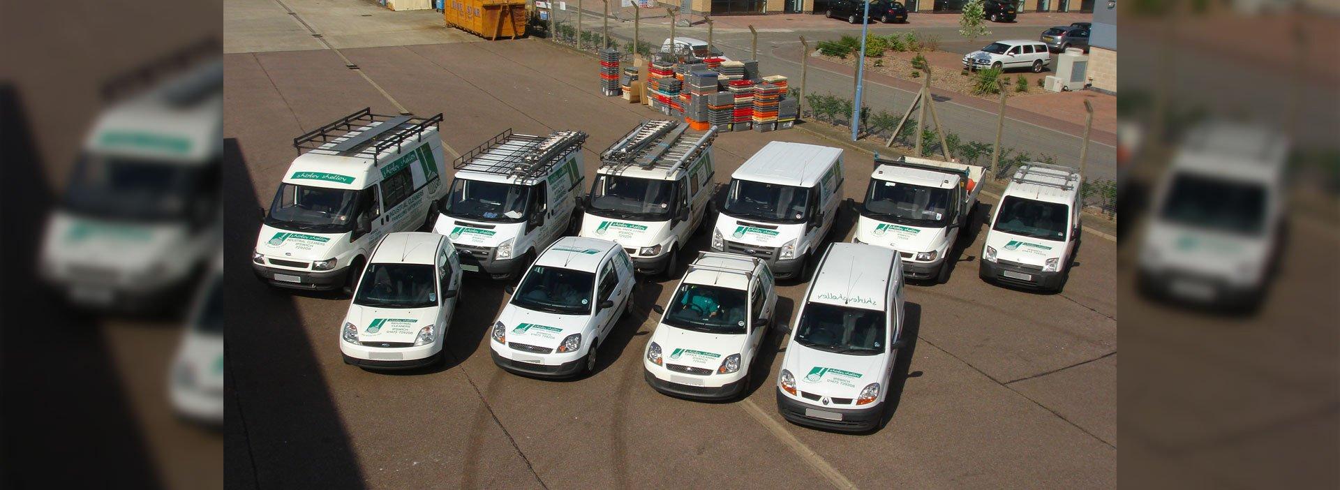 Shirley Shelley vehicle fleet