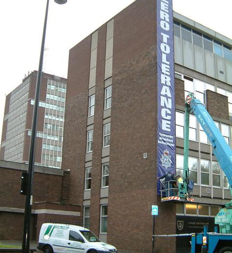 banner installing