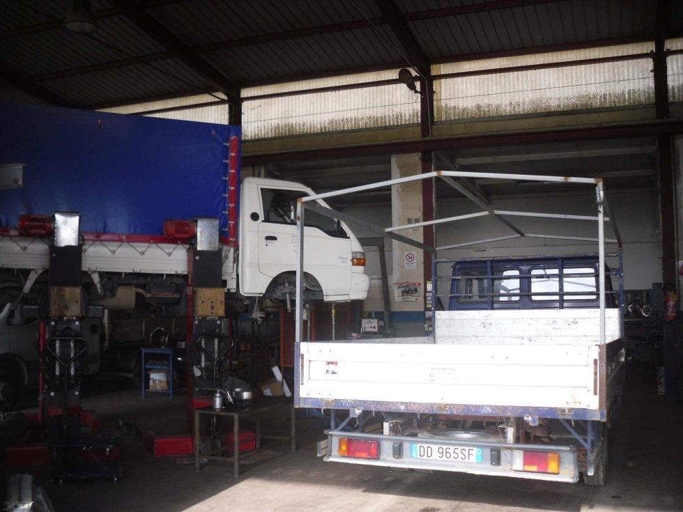 officina veicoli industriali