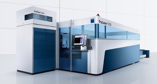 Triumpf Tif 5000 per taglio laser delle lamiere