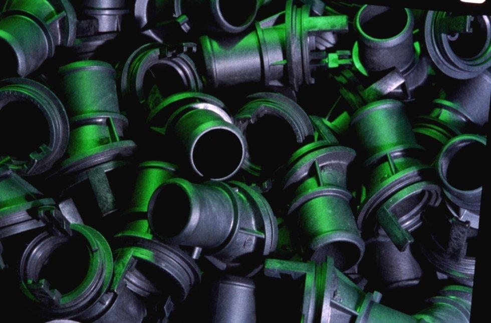 Formung von Kunststoffpolymeren