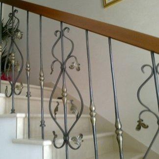 ringhiere e scale in ferro battuto