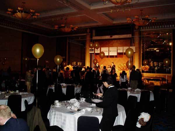 Full house at 2006 Champagne Ball