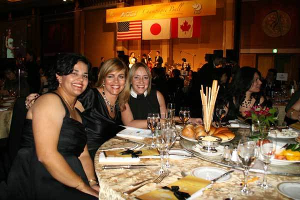Table guests at the 2007 Ball