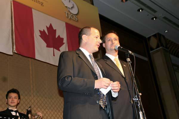 Awards at Champagne Ball 2007
