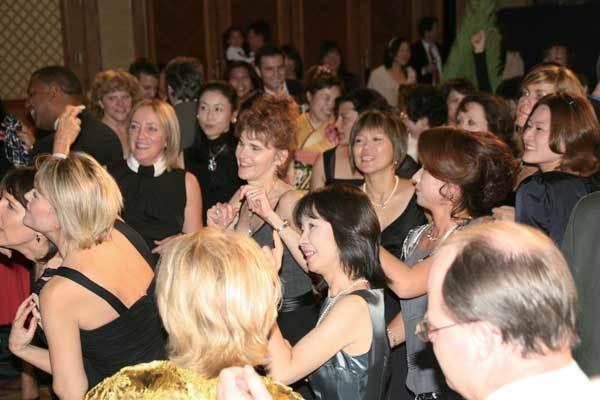 Everyone on the dance floor