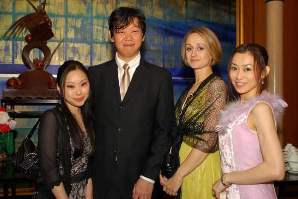 Guests at 2008 Champagne Ball in Nagoya, Japan