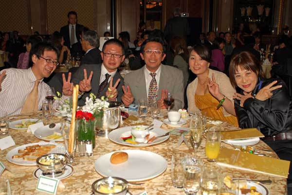 Table Guests at 2008 Champagne Ball