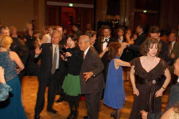 Dancing to Whoop! at the Ball in Nagoya