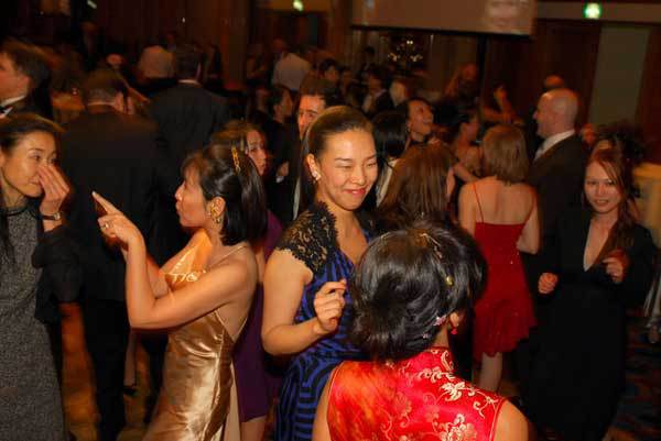 Dancing at 2008 Champagne Ball