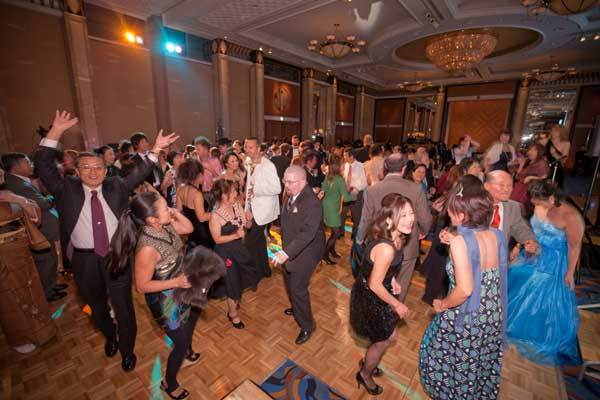 Dancing at 2011 Champagne Ball
