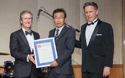 ACCJ Volunteer of the Year, Takashi Omitsu