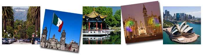 Nagoya's Sister Cities