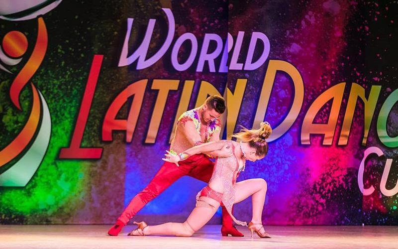 Simone in World latin dance
