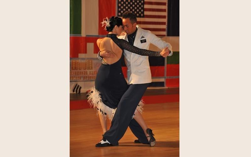 Esibizioni di tango