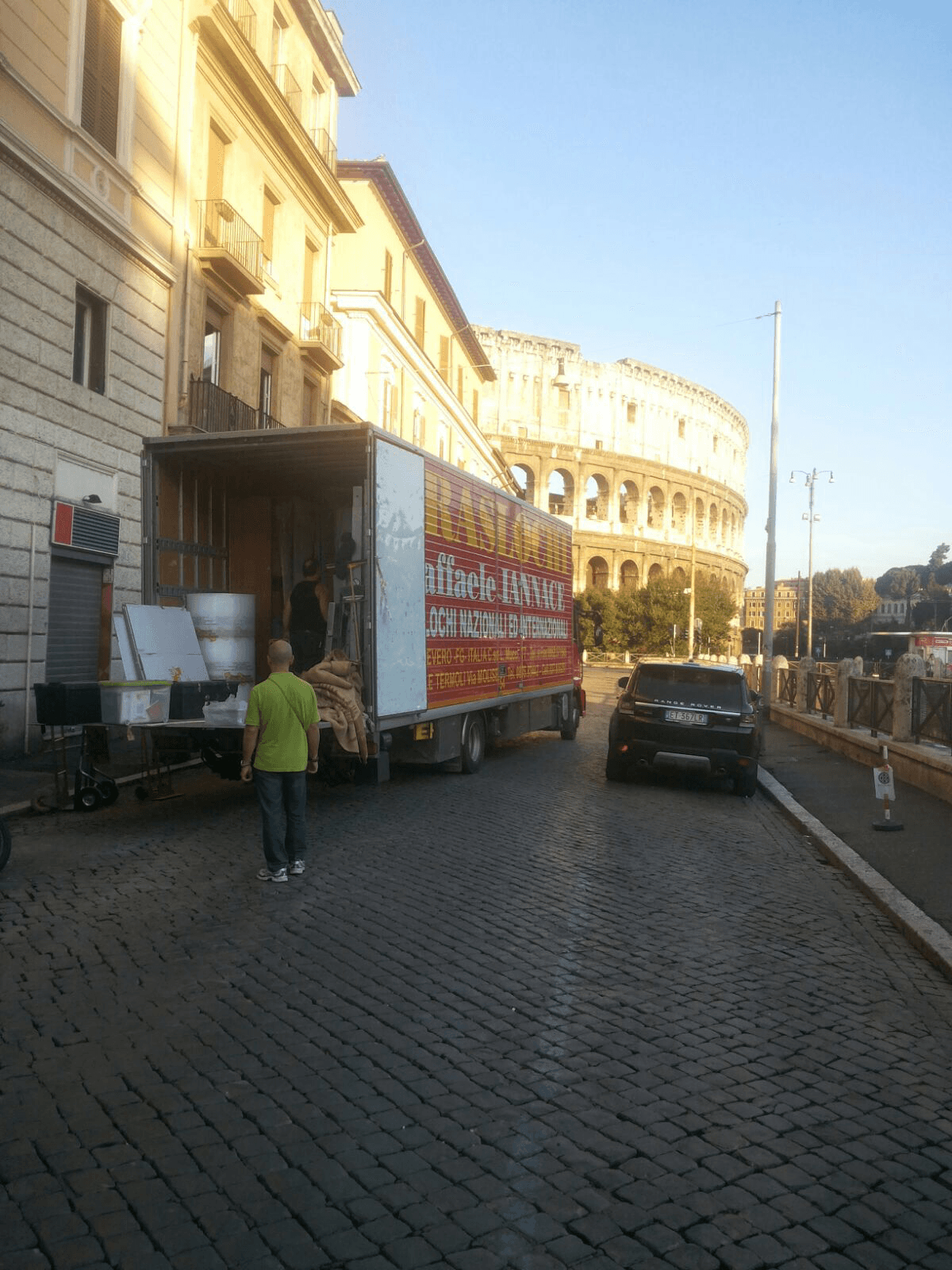 camion traslochi a roma