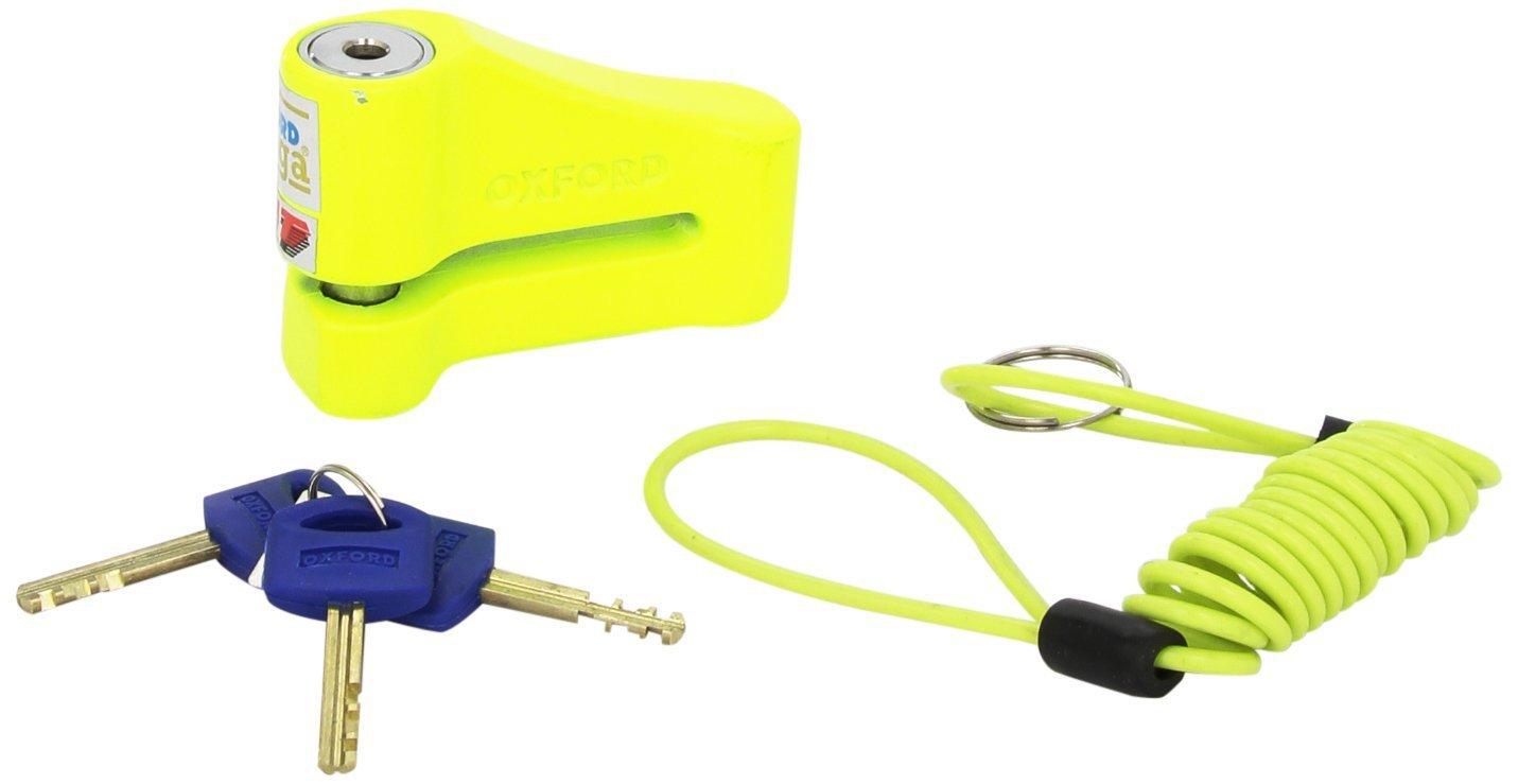 Omega Tough Disc Lock Yellow