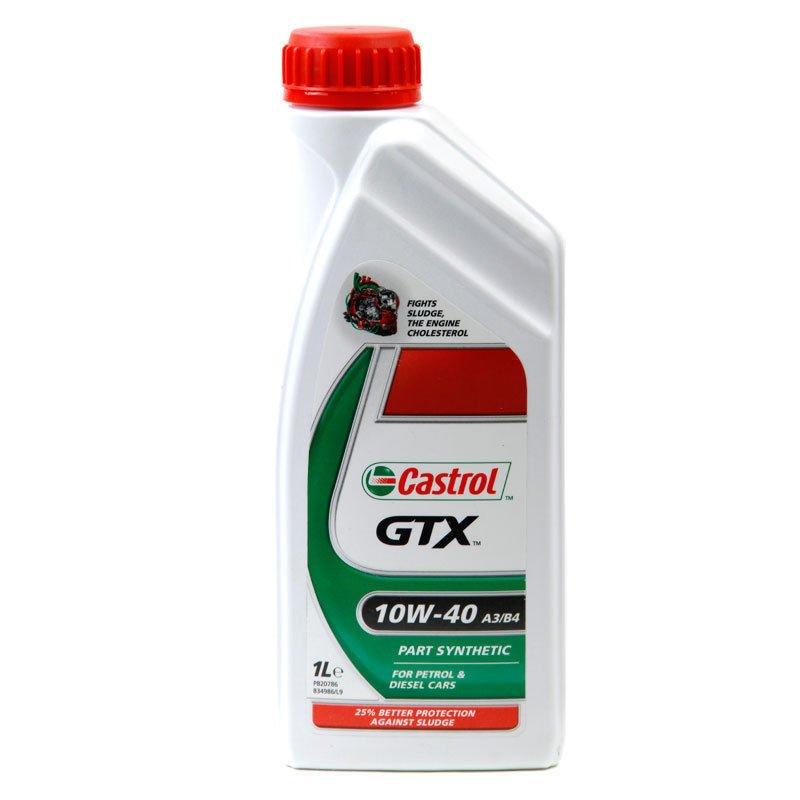Castrol GTX 10W40 Oil 1 litre Top Up