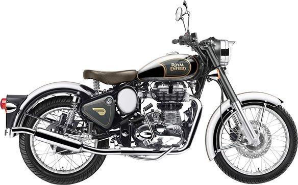 Royal Enfield Classic Chrome Athena Grey