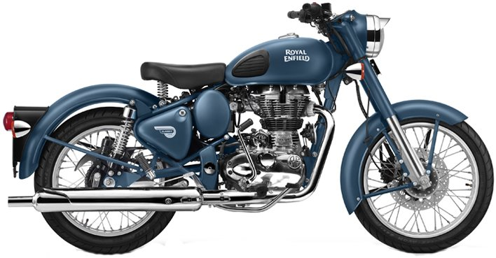 Royal Enfield Classic Satin Squadron Blue