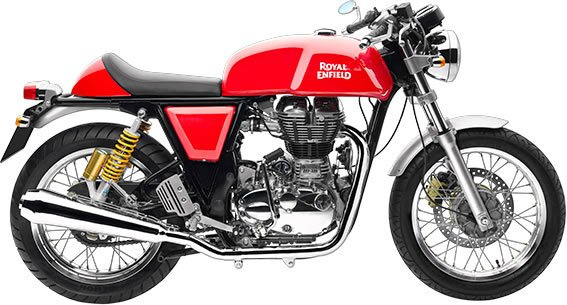Royal Enfield Continental GT - Red