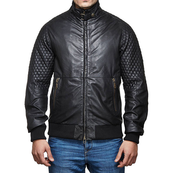 Royal Enfield Classic Moto Leather Jacket Black