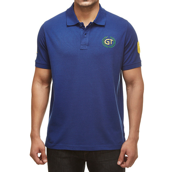 Royal Enfield GT Polo Shirt Blue