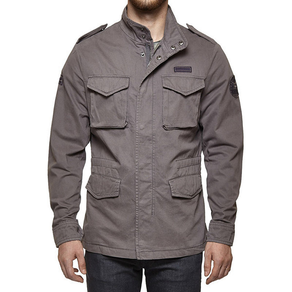 Royal Enfield M-WD/COLF Field Jacket Grey