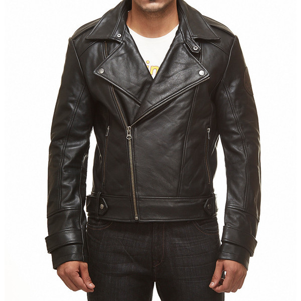 Royal Enfield GT Continental Leather Jacket Brando