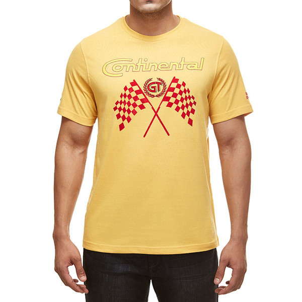Royal Enfield GT Flag T-Shirt Mustard