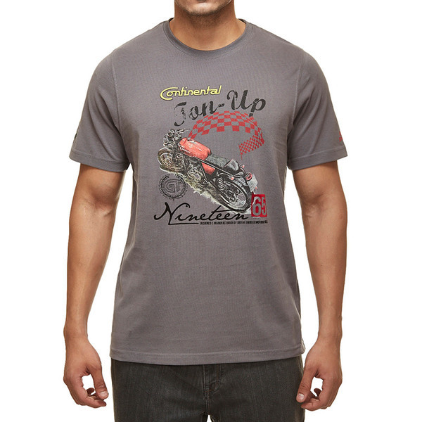 Royal Enfield GT Ton Up T-Shirt Grey