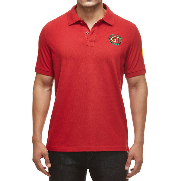 oyal Enfield GT Polo Shirt Red
