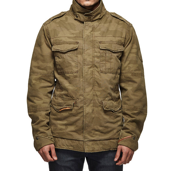 Royal Enfield Classic Field Camo Jacket Olive