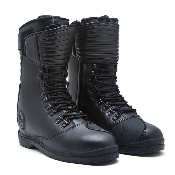 Royal Enfield Long Riding Boot Black