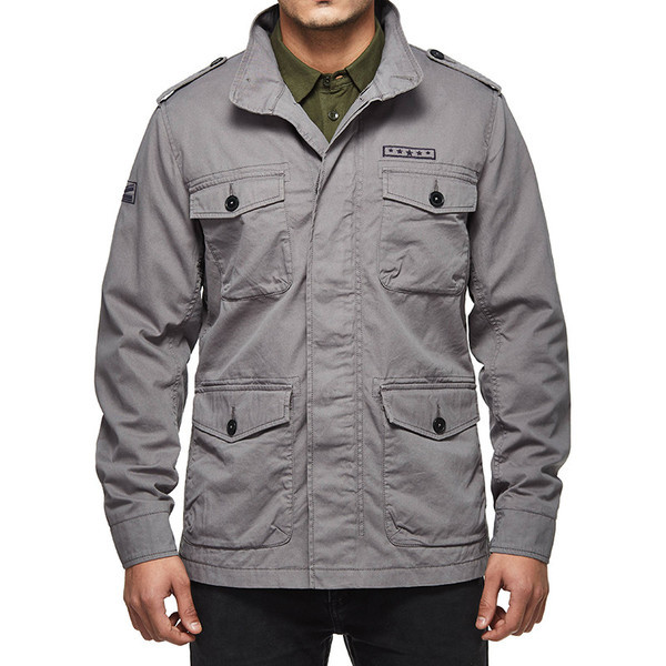 Royal Enfield M-WD/248 Field Jacket Grey