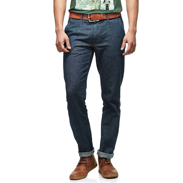 yal Enfield Denim Riding Jeans Blue