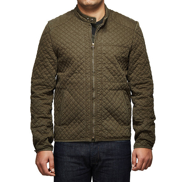 Royal Enfield Urban Drifter Denim & Twill Jacket Olive