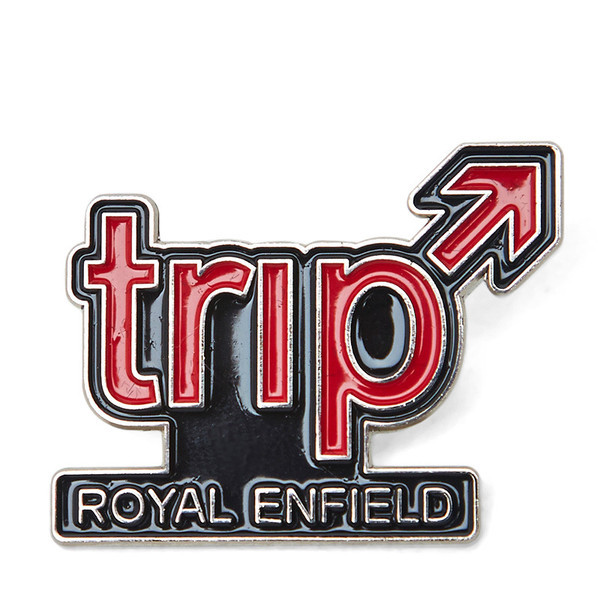 Royal Enfield Pin Badge Trip